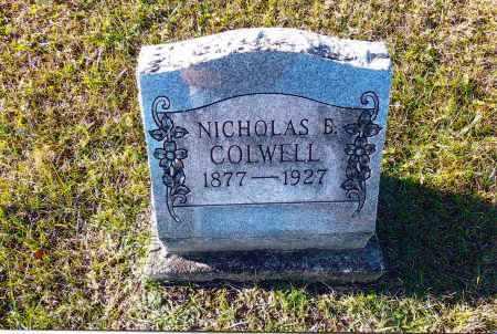 COLWELL, NICHOLAS B. - Gallia County, Ohio | NICHOLAS B. COLWELL - Ohio Gravestone Photos