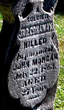 CONAWAY, JOHN (CLOSE-UP) - Gallia County, Ohio | JOHN (CLOSE-UP) CONAWAY - Ohio Gravestone Photos