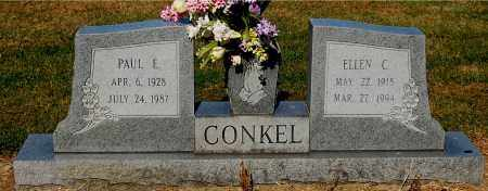 CONKEL, PAUL E - Gallia County, Ohio | PAUL E CONKEL - Ohio Gravestone Photos