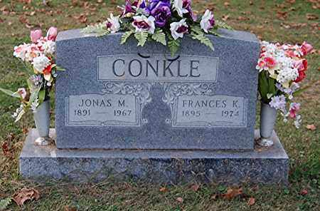 CONKLE, FRANCES K - Gallia County, Ohio | FRANCES K CONKLE - Ohio Gravestone Photos