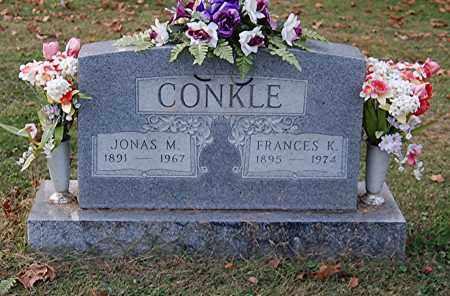 CONKLE, JONAS M - Gallia County, Ohio | JONAS M CONKLE - Ohio Gravestone Photos