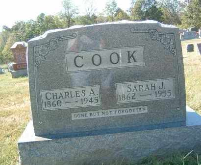 COOK, CHARLES A. - Gallia County, Ohio | CHARLES A. COOK - Ohio Gravestone Photos