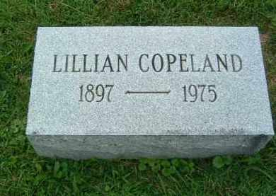 COPELAND, LILLIAN - Gallia County, Ohio | LILLIAN COPELAND - Ohio Gravestone Photos