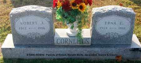 CORNELIUS, ERNA E - Gallia County, Ohio | ERNA E CORNELIUS - Ohio Gravestone Photos