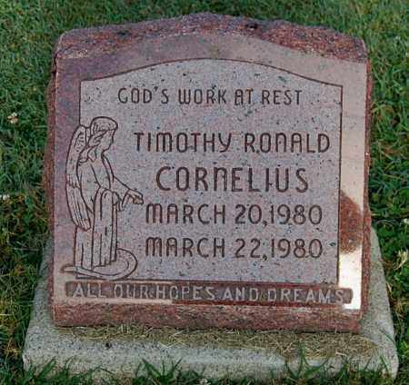 CORNELIUS, TIMOTHY RONALD - Gallia County, Ohio | TIMOTHY RONALD CORNELIUS - Ohio Gravestone Photos
