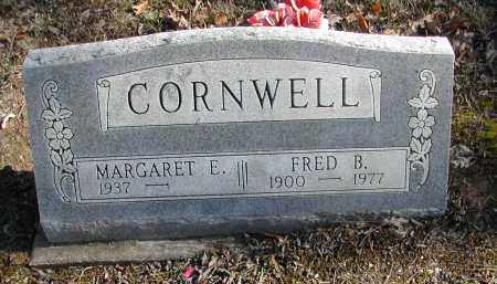 CORNWELL, MARGARET E. - Gallia County, Ohio | MARGARET E. CORNWELL - Ohio Gravestone Photos