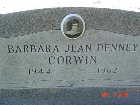 DENNEY CORWIN, BARBARA - Gallia County, Ohio | BARBARA DENNEY CORWIN - Ohio Gravestone Photos