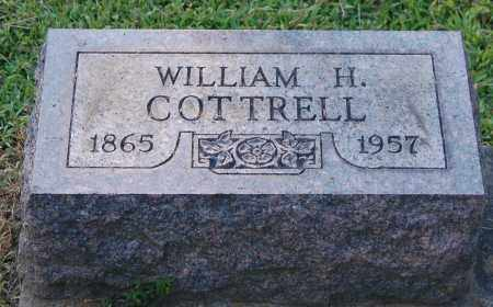COTTRELL, WILLIAM H - Gallia County, Ohio | WILLIAM H COTTRELL - Ohio Gravestone Photos