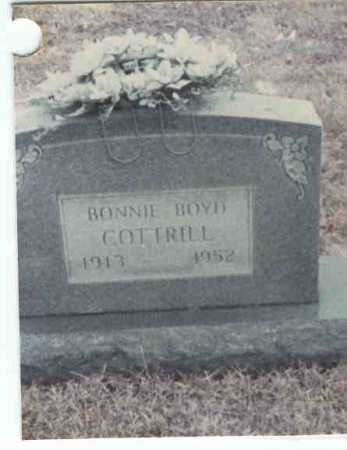 COTTRILL, BONNIE - Gallia County, Ohio | BONNIE COTTRILL - Ohio Gravestone Photos