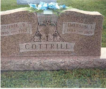 COTTRILL, EMERSON L. - Gallia County, Ohio | EMERSON L. COTTRILL - Ohio Gravestone Photos
