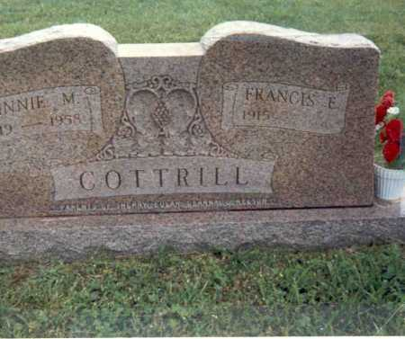 COTTRILL, MINNIE M - Gallia County, Ohio | MINNIE M COTTRILL - Ohio Gravestone Photos