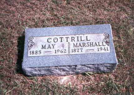 SAYRE COTTRILL, MAY - Gallia County, Ohio | MAY SAYRE COTTRILL - Ohio Gravestone Photos