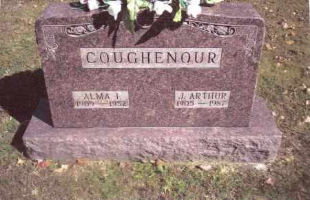 COUGHENOUR, ALMA I. - Gallia County, Ohio | ALMA I. COUGHENOUR - Ohio Gravestone Photos