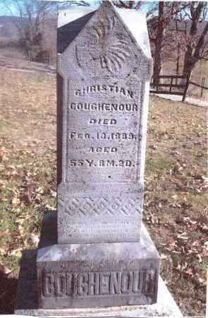 COUGHENOUR, CHRISTIAN - Gallia County, Ohio | CHRISTIAN COUGHENOUR - Ohio Gravestone Photos