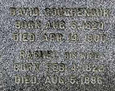 COUGHENOUR, DAVID (CLOSE-UP) - Gallia County, Ohio | DAVID (CLOSE-UP) COUGHENOUR - Ohio Gravestone Photos