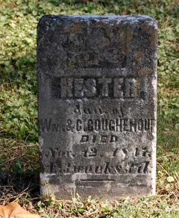 COUGHENOUR, HESTER - Gallia County, Ohio | HESTER COUGHENOUR - Ohio Gravestone Photos