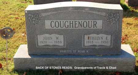COUGHENOUR, JOHN W - Gallia County, Ohio | JOHN W COUGHENOUR - Ohio Gravestone Photos