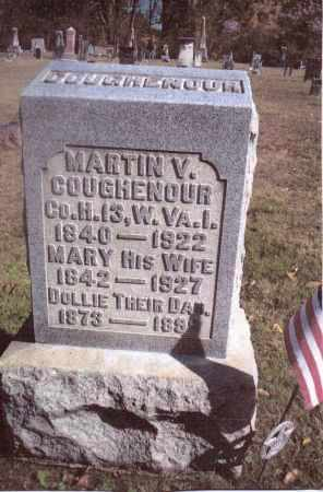 COUGHENOUR, MARTIN V. - Gallia County, Ohio | MARTIN V. COUGHENOUR - Ohio Gravestone Photos