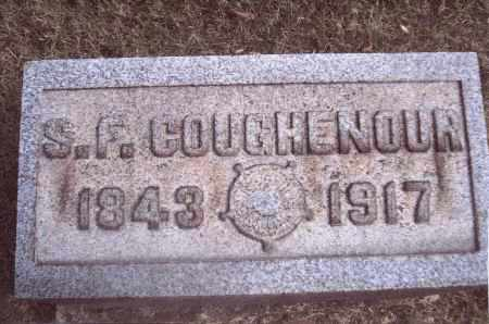 COUGHENOUR, S. F. - Gallia County, Ohio | S. F. COUGHENOUR - Ohio Gravestone Photos