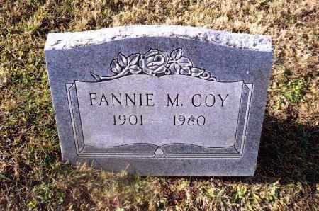 COY, FANNIE M. - Gallia County, Ohio | FANNIE M. COY - Ohio Gravestone Photos