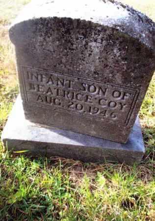 COY, INFANT SON - Gallia County, Ohio | INFANT SON COY - Ohio Gravestone Photos