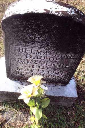 COY, THELMA JANE - Gallia County, Ohio | THELMA JANE COY - Ohio Gravestone Photos