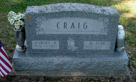 CRAIG, ROBERT D - Gallia County, Ohio | ROBERT D CRAIG - Ohio Gravestone Photos