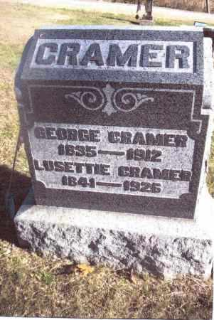 CRAMER, GEORGE - Gallia County, Ohio | GEORGE CRAMER - Ohio Gravestone Photos