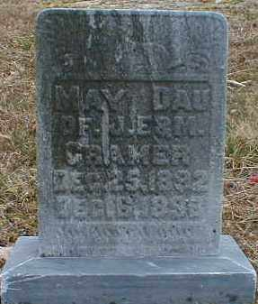 CRAMER, MAY - Gallia County, Ohio | MAY CRAMER - Ohio Gravestone Photos
