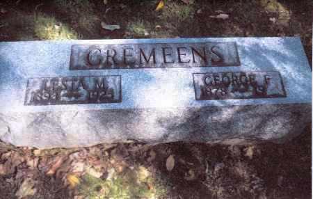 CREMEENS, LESTA - Gallia County, Ohio | LESTA CREMEENS - Ohio Gravestone Photos