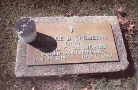 CREMEENS, HORACE BD. - Gallia County, Ohio | HORACE BD. CREMEENS - Ohio Gravestone Photos