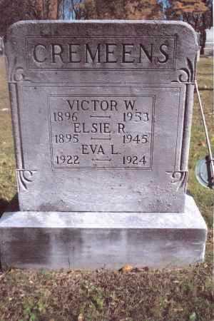 CREMEENS, VICTOR W. - Gallia County, Ohio | VICTOR W. CREMEENS - Ohio Gravestone Photos