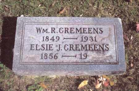 CREMEENS, ELSIE J. - Gallia County, Ohio | ELSIE J. CREMEENS - Ohio Gravestone Photos