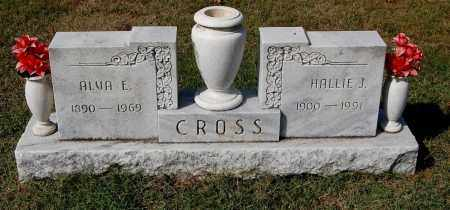 CROSS`, HALLIE J - Gallia County, Ohio | HALLIE J CROSS` - Ohio Gravestone Photos