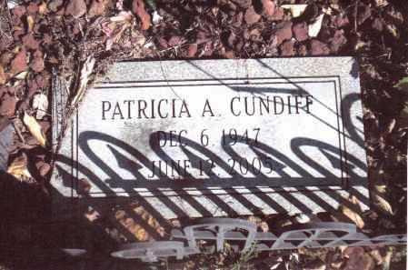 CUNDIFF, PATRICIA A - Gallia County, Ohio | PATRICIA A CUNDIFF - Ohio Gravestone Photos