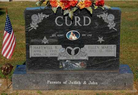 CURD, ELLEN MARIE - Gallia County, Ohio | ELLEN MARIE CURD - Ohio Gravestone Photos