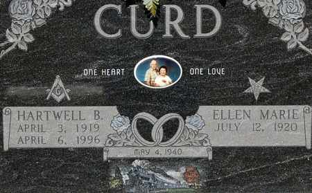 CURD, ELLEN MARIE (CLOSE-UP) - Gallia County, Ohio | ELLEN MARIE (CLOSE-UP) CURD - Ohio Gravestone Photos