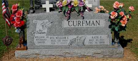 CURFMAN, KATIE E - Gallia County, Ohio | KATIE E CURFMAN - Ohio Gravestone Photos