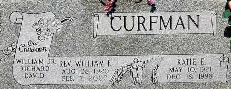 CURFMAN, KATIE E (CLOSE-UP) - Gallia County, Ohio | KATIE E (CLOSE-UP) CURFMAN - Ohio Gravestone Photos