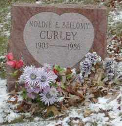BELLOMY CURLEY, NOLDIE E. - Gallia County, Ohio | NOLDIE E. BELLOMY CURLEY - Ohio Gravestone Photos