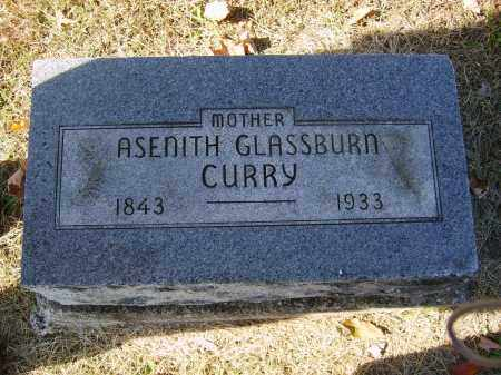 GLASSBURN CURRY, ASENITH - Gallia County, Ohio | ASENITH GLASSBURN CURRY - Ohio Gravestone Photos