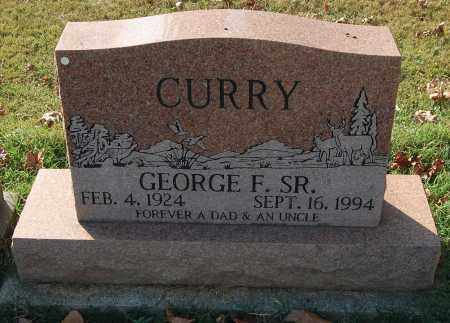CURRY, GEORGE F SR - Gallia County, Ohio | GEORGE F SR CURRY - Ohio Gravestone Photos
