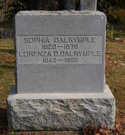 DALRYMPLE, SOPHIA - Gallia County, Ohio | SOPHIA DALRYMPLE - Ohio Gravestone Photos