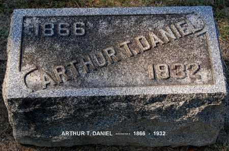 DANIEL, ARTHUR T - Gallia County, Ohio | ARTHUR T DANIEL - Ohio Gravestone Photos