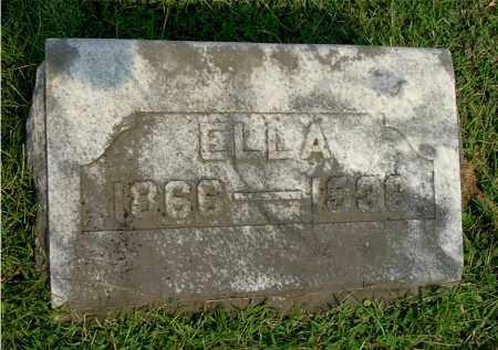 DANIEL, ELLA - Gallia County, Ohio | ELLA DANIEL - Ohio Gravestone Photos