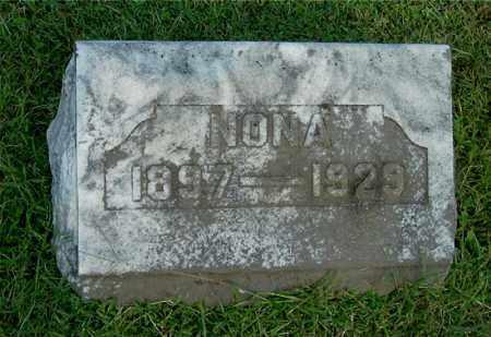 DANIEL, NONA - Gallia County, Ohio | NONA DANIEL - Ohio Gravestone Photos