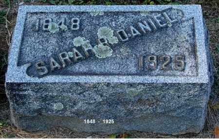 DANIEL, SARAH R - Gallia County, Ohio | SARAH R DANIEL - Ohio Gravestone Photos