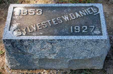 DANIEL, SYLVESTES W - Gallia County, Ohio | SYLVESTES W DANIEL - Ohio Gravestone Photos