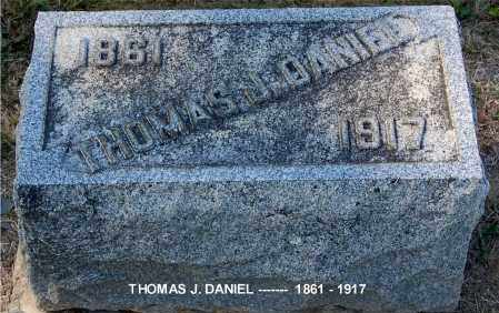 DANIEL, THOMAS J - Gallia County, Ohio | THOMAS J DANIEL - Ohio Gravestone Photos