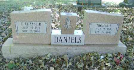 DANIELS, C. - Gallia County, Ohio | C. DANIELS - Ohio Gravestone Photos